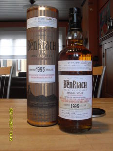 Benriach 1995 - Madeira Hogshead- 18 years old - 54,6°