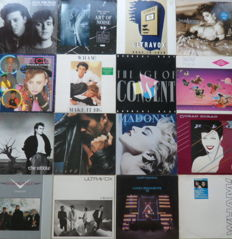 Lot of 16 Synthy Pop Albums of the 80's