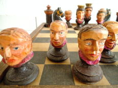 Chess figures very old