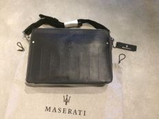 Maserati - Leather laptop bag with carrying strap - Like new