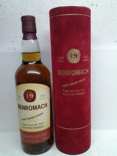 Benromach Port Wood Finish - 19 years old