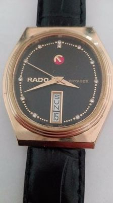 Rado - voyager diamond - Men - 1970-1979