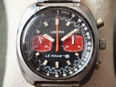 "Hema ""Le Mans"" racing chronograph men's watch - Recently serviced"