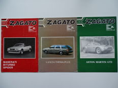 1984 - 1985 - ZAGATO Car Club - Mixed lot of 3 original club magazines