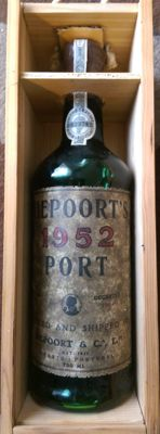 1952 Garrafeira Port Niepoort's - bottled in 1955 - decanted in 1984