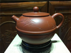 "Yixing teapots, maker is ""Qin Yong Qiang ""- China - 21st century"