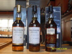 3 bottles - Talisker 18 years old, Talisker 57° North & Talisker Neist Point