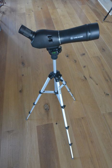 Meade spotting scope, 20x - 60x, 60mm