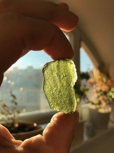 Lot of Moldavite - Tektites - 13.8g (4)