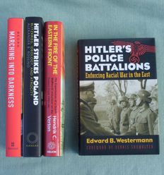 WW2: Lot of 4 books about the German Eastern Front – 2003/2014