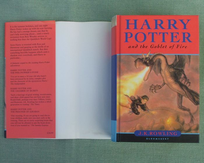 Harry Potter Book Cover Front And Back : J k rowling harry potter volumes catawiki