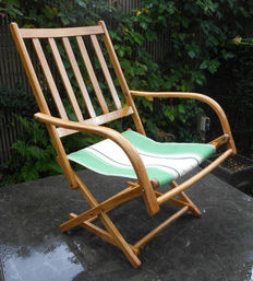 Torck garden chair collapsible - Belgium, from the 1920s/1940s
