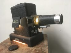 Leitz VIII-S slide projector with WWII slides - 1938 -Germany