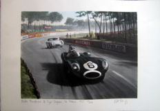 """Le Mans 1955"" Jaguar D-Type/Mike Hawthorn (Winner)"