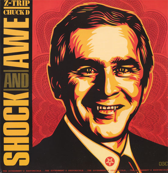 Shepard Fairey (OBEY) - Shock and Awe (2005)
