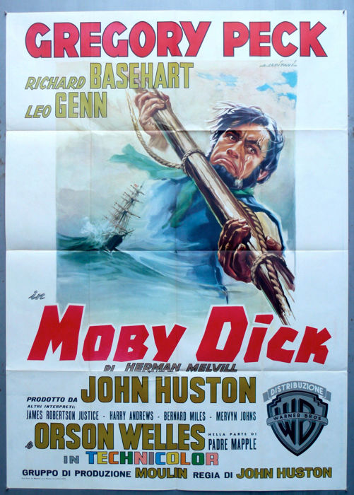 Moby Dick (Gregory Peck) - 1956