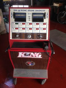 KING - Dial-a-Tronic - Engine diagnosis - for older vehicles from 1950-1975