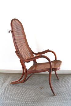 Deck- / folding chair in Thonet-style