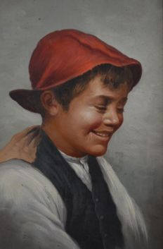 Unknown artist (20th century) Scugnizzo sorridente