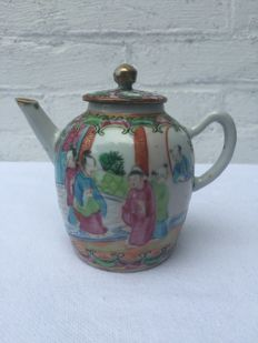Cantonese teapot - China - late 19th century