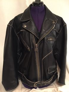 Beautiful leather Harley Davidson motorcycle jacket XL