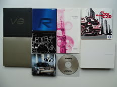 1997 - 2008 - VOLVO 960, V70 R, XC90 V8, PCC, SCC & VCC concept cars, C70, C30, XC60, etc - Mixed lot of 9 Press Information kits with CDrom