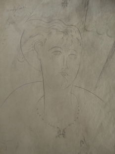Amedeo Modigliani- Untitled