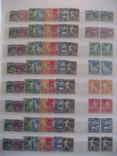 The Netherlands 1928 - Collection Olympics, includes blocks, sheet parts and special emissions
