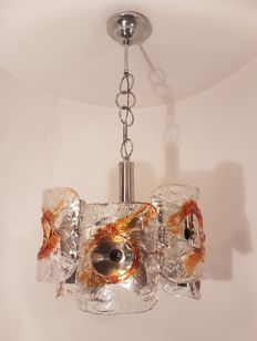 Unknown designer - 6-light chandelier
