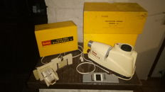 Slide Projector Kodak Senior 1 A + Slide Changer Readymatic F