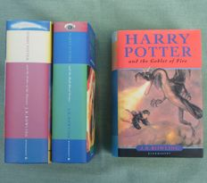 J.K. Rowling – Harry Potter – 3 volumes – 2000/2005