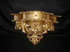 Gilt Wood Corbel with Drawer, begin 20th century