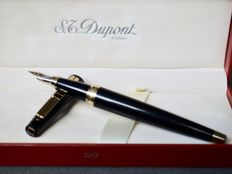 S.T. Dupont Ellipsis fountain pen - Ref. 471400 - Original box - 18k solid gold nib - New and unused