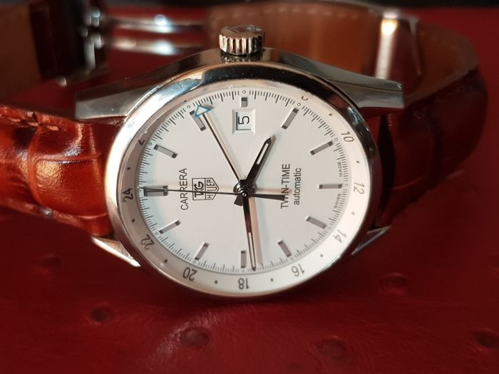 Tag Heuer Carrera Twin-time Ref. Wv2116 - Heren Horloge