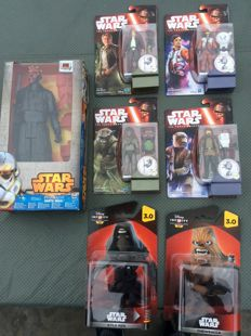 Star Wars toys collection