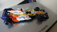 Norev / Minichamps - Scale 1/43 - Lot of 4 x Renault