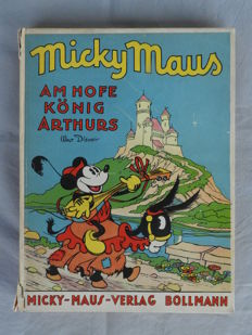 Disney, Walt - Micky Maus at King Arthur's Court - hc - first edition (1936)