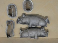 C. van Laere (Leiden) chocolate moulds