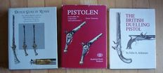 Guns, weapons - Lot with 3 books about old guns and rifles - 1978 -1996