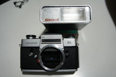 LEICAFLEX  Wetzlar  sl  body + borsa originale + flash zeiss ikon + cavalletto