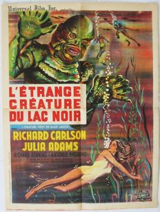 Creature from the black lagoon (Jack Arnold) - 1954