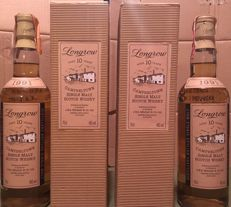 2 bottles - Longrow 1991 aged 10 years 46% vol.