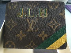 Louis Vuitton - Wallet Monogram Limited edition engraved - 2012