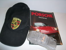 Vintage Lead Crystal (over 24%) Glass Porsche 911 Heavy Paperweight