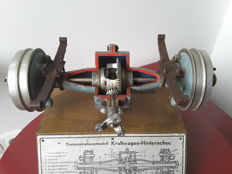 Werner degener - Driving school instructional scale model.