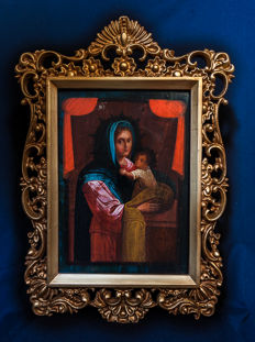An Italo-Greek icon of the mother of God - Adriatic icon school - 17-18th century