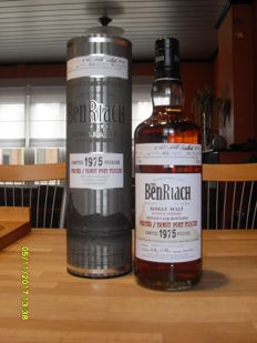 Benriach 1975 - Peated / Tawny Port Finish - 33 years old - 52.2%