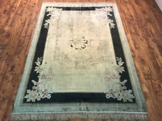 BEAUTIFUL NATURAL CHINESE SILK RUG 172 x 260