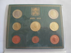 Vatican - Year pack Euro coins 2010 Benedict XVI