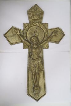 "The great kiotnoe Catholic crucifixion ""Atonement for the sins of men."" The exact age is not known."